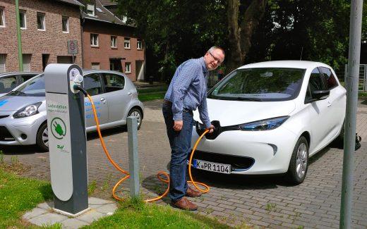 Elektroautos sind besonders datensammelwütig. (Bildrechte: STEIN-ONLINE.DE/ Stein)
