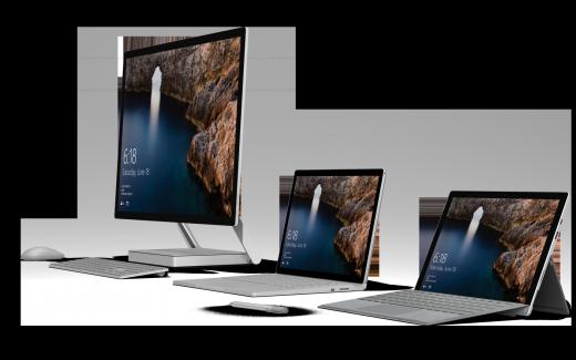 Bei vielen modernen Windows-10-Rechnen kann man sich mit seinem Gesicht anmelden. (Bildrechte: Microsoft)
