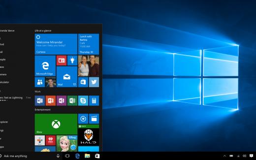 Windows 10 (Bildrechte: Microsoft)
