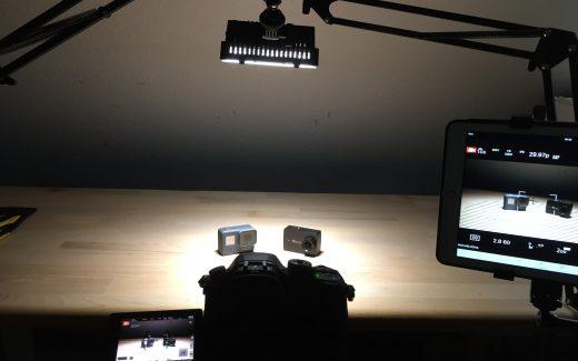 Im eigenen Studio entstehen professionelle Videos. (Bildrechte: FRAGDENSTEIN.DE/ Stein)