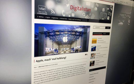 """Michael Stein gehört zum Blogger-Team des WDR-Blogs """"Digitalistan"""". (Bildrechte: STEIN-ONLINE.DE/ Stein)"""